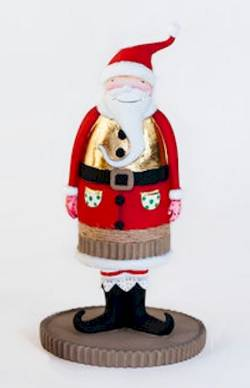 Santa with Gold Vest Figure THUMBNAIL