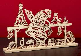 Santa's Workshop Centerpiece THUMBNAIL