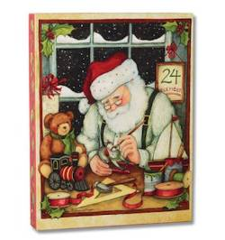 Santa's Workshop Wall Art