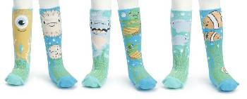 Under the Sea Knee Sock Gift Set THUMBNAIL