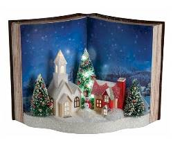 Storybook Holiday Scene