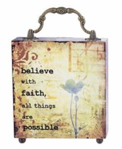 Believe with Faith