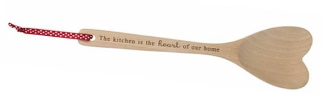 """The kitchen is the heart of our home"""
