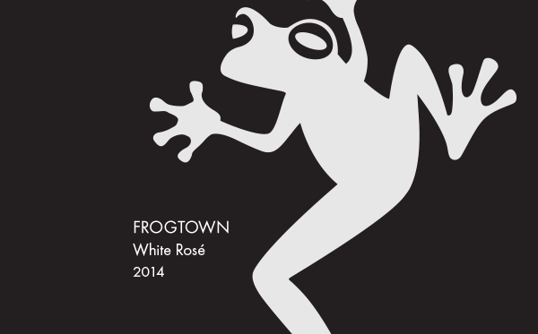 <b>Frogtown</b></br>White Rosé</br>2014
