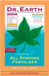 12lb Dr Earth Organic 7 All Purpose Fertilizer THUMBNAIL