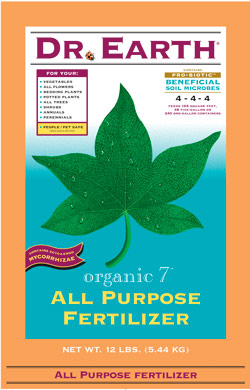 12lb Dr Earth Organic 7 All Purpose Fertilizer LARGE