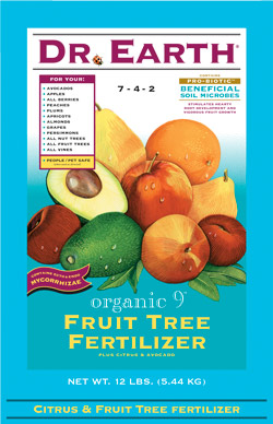 12lb Dr Earth Organic 9 Fruit Tree Fertilizer 7-4-2 LARGE