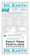 25lb Dr Earth Organic 9 Fruit Tree Fertilizer THUMBNAIL