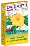 4lb Dr Earth Organic 10 Palm, Tropical and Hibiscus Fertilizer