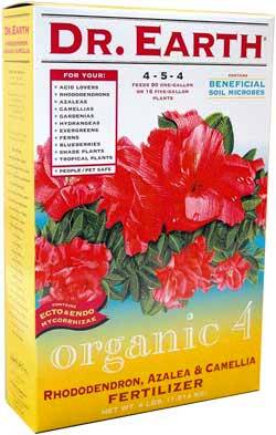 4lb Dr Earth Organic 4 Rhododendron, Azalea & Camellia Fertilizer LARGE
