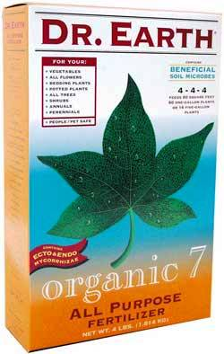 4lb Dr Earth Organic 7 All Purpose Fertilizer