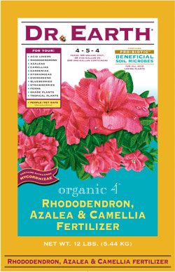 12lb Dr Earth Organic 4 Rhododendron, Azalea & Camellia Fertilizer LARGE