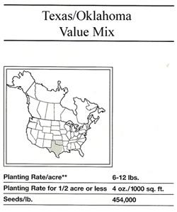 Texas_Oklahoma Value Mix_SWATCH