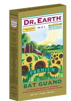 1.5lb Dr Earth Organic Bat Guano