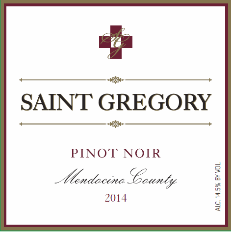 2015 Saint Gregory Pinot Noir MAIN