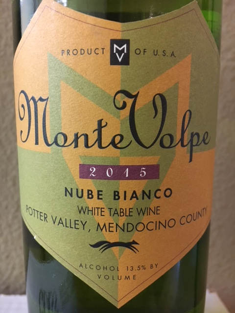 2015 Monte Volpe Nube Bianco