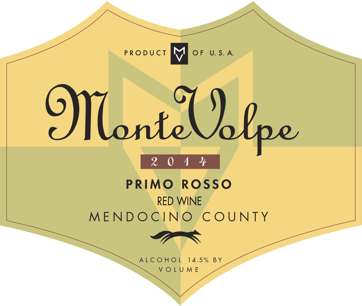 2014 Monte Volpe Primo Rosso THUMBNAIL