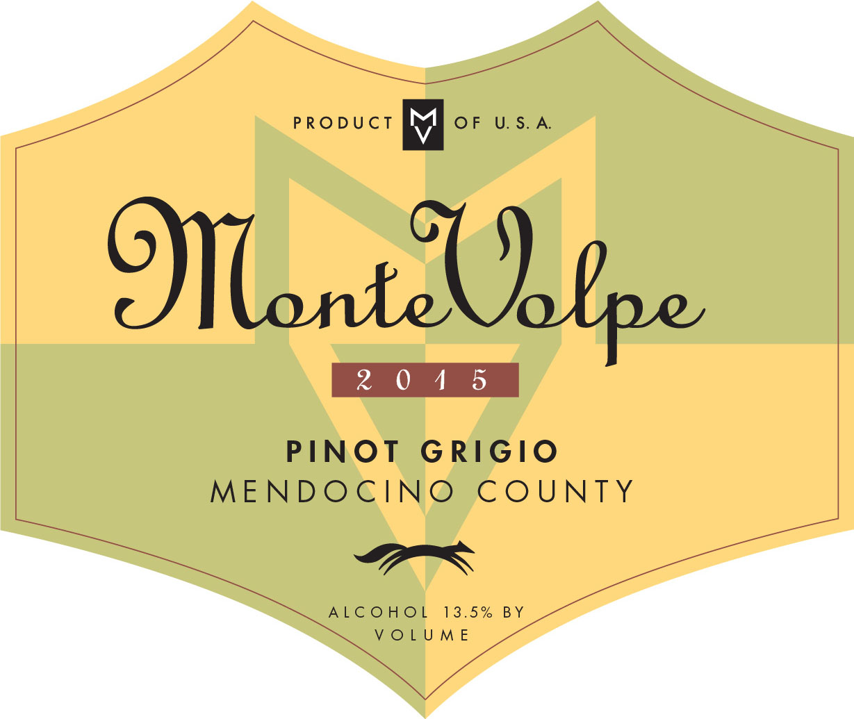 2015 Monte Volpe Pinot Grigio