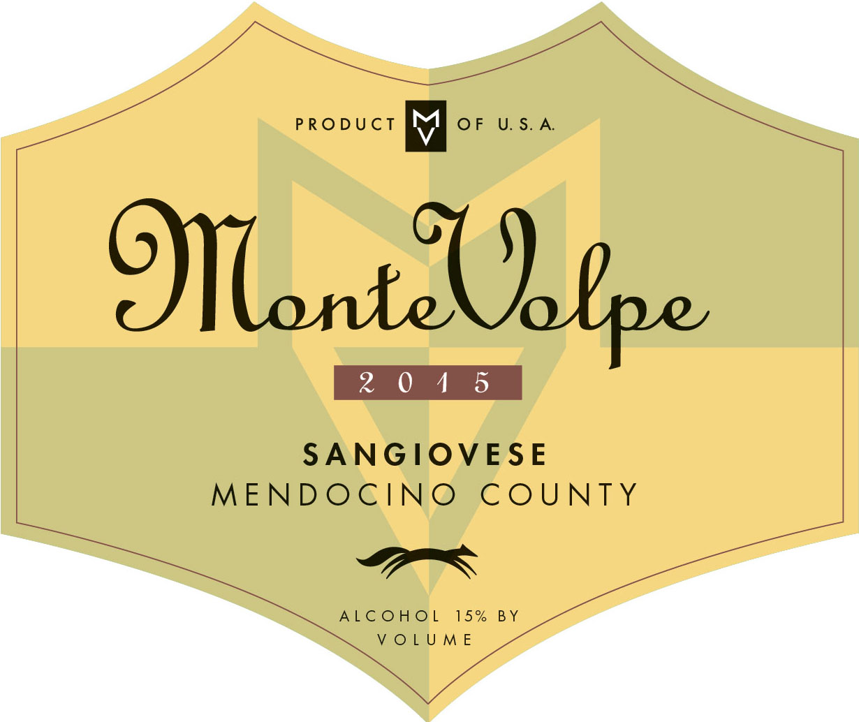 2015 Monte Volpe Sangiovese