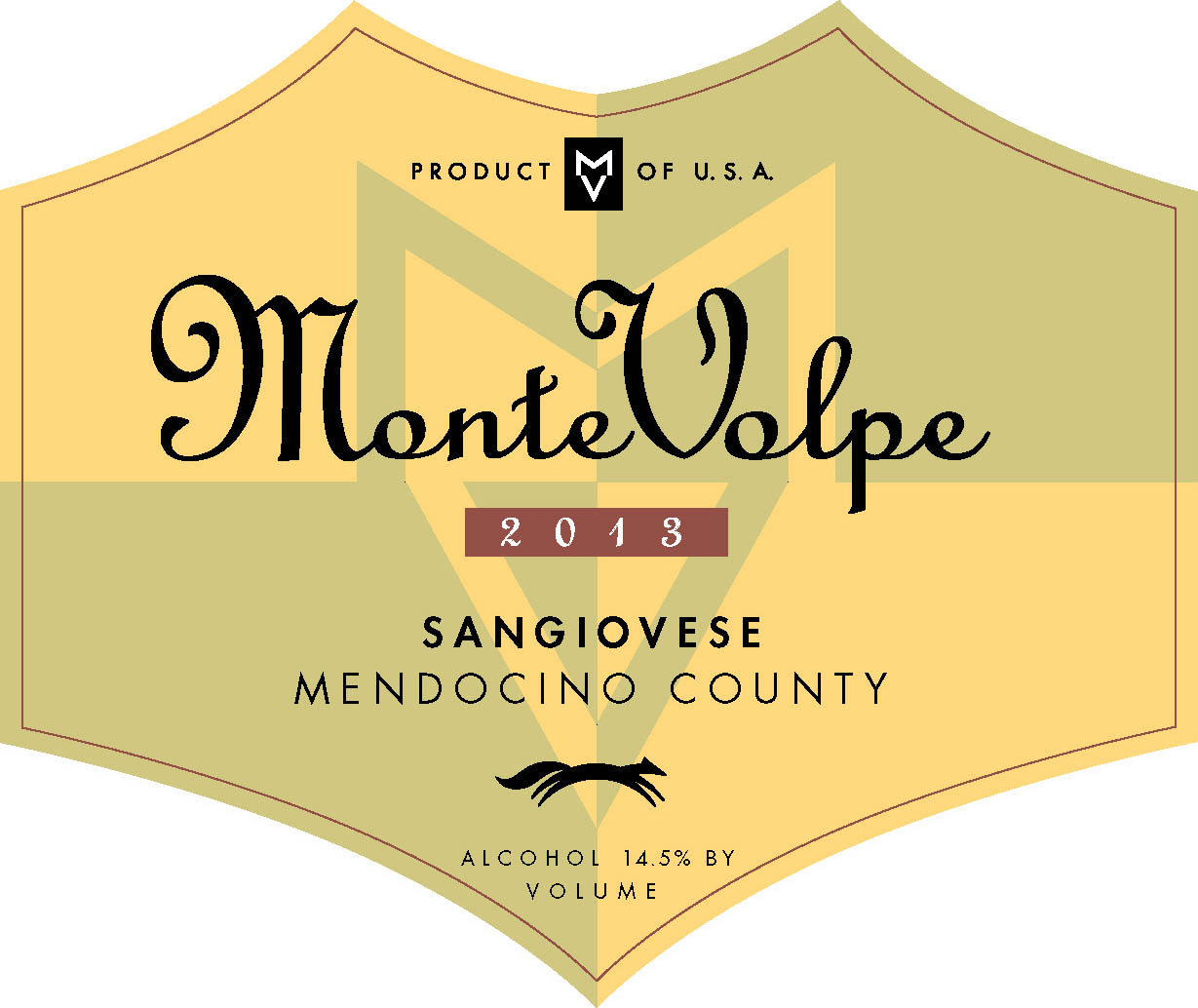 2013 Monte Volpe Sangiovese