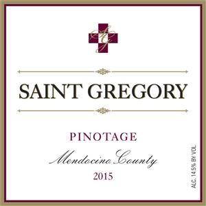 2015 Saint Gregory Pinotage MAIN