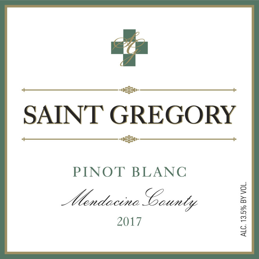 2017 Saint Gregory Pinot Blanc MAIN