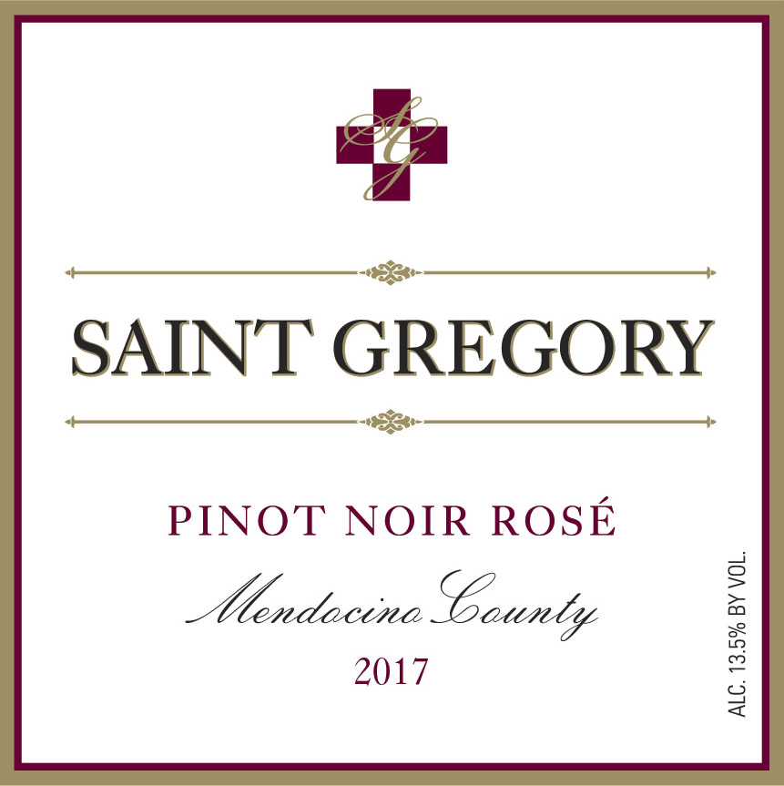 2017 Saint Gregory Pinot Noir Rose