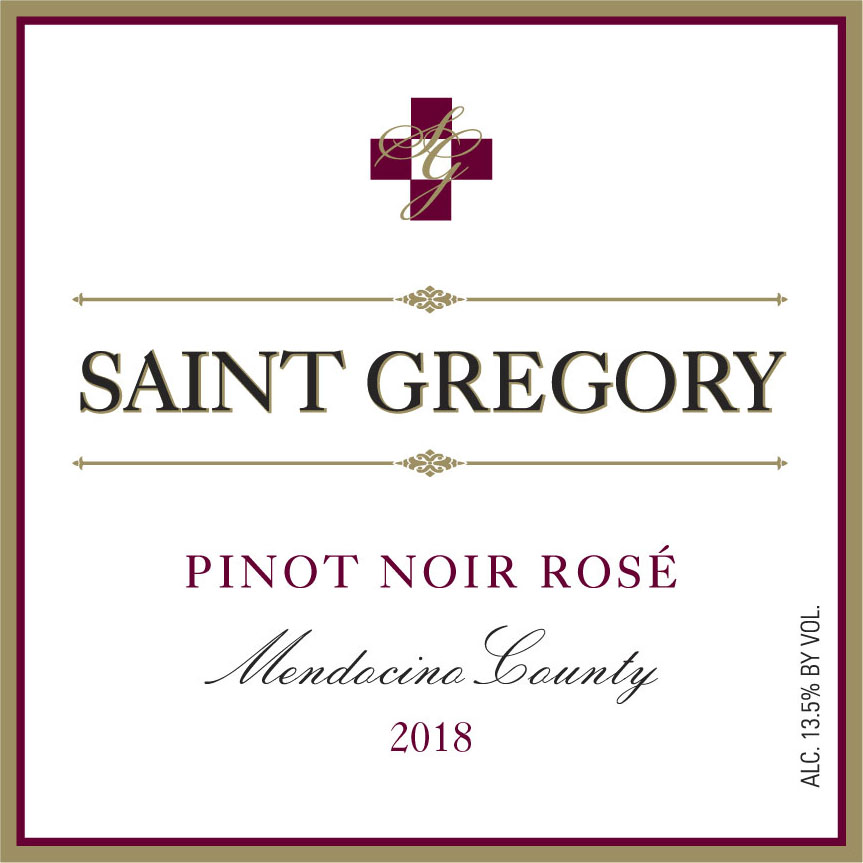 2018 Saint Gregory Pinot Noir Rose MAIN