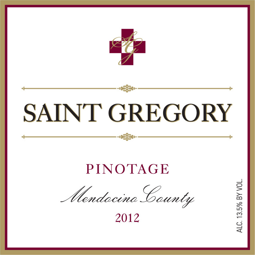 2012 Saint Gregory Pinotage
