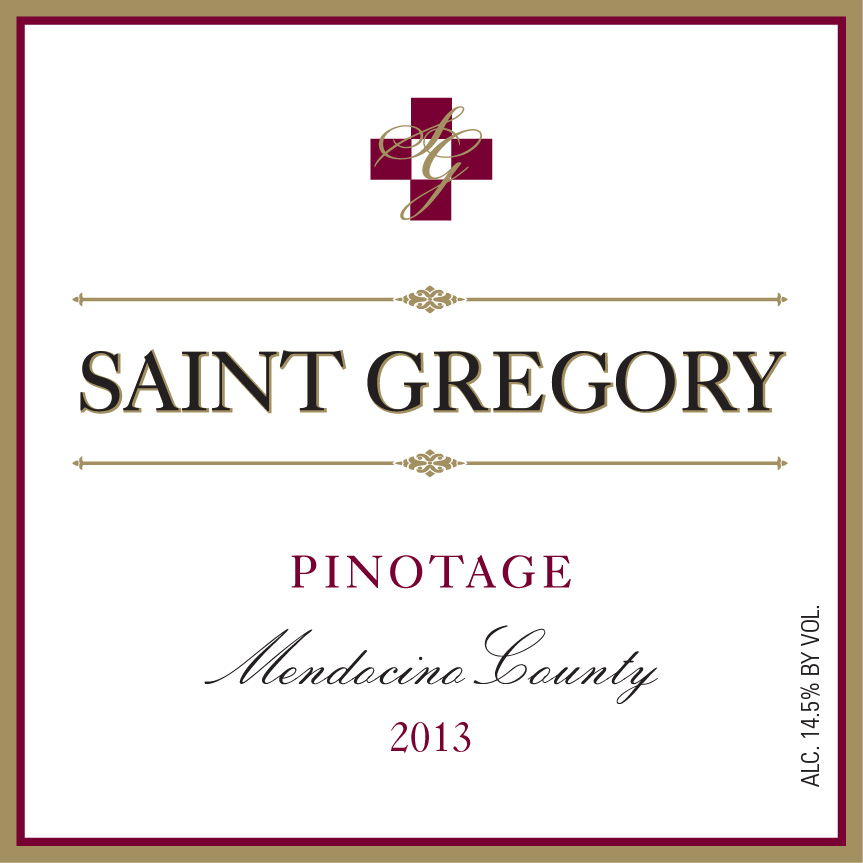 2013 Saint Gregory Pinotage