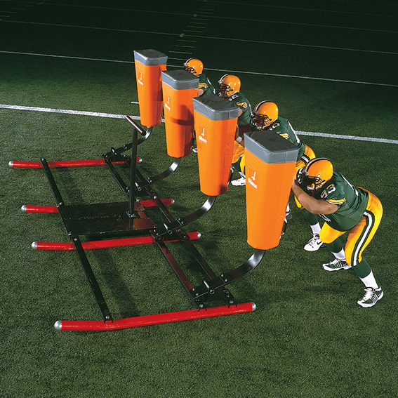 4 Man Sled, football sled, exercise sled, NFL sled