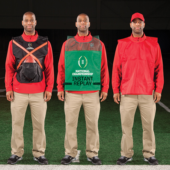 Football Vests, Sideline Vests, Conference Vests - Sideline Vests THUMBNAIL