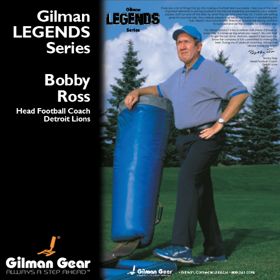 Bobby Ross, Head Football Coach, Detroit Lions, Gilman Legends Posters LARGE