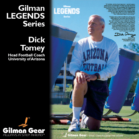 Dick Tomey, Head Football Coach, University of Arizona, Gilman Legends Posters