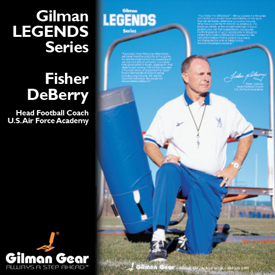 Fisher DeBerry, Head Football Coach, United States Air Force Academy, Gilman Legends Posters_LARGE
