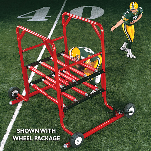 The Gauntlet 2-Man Sled, Gauntlet 2 Man, 2 Man Sled, football gauntlet, football sled, football machine