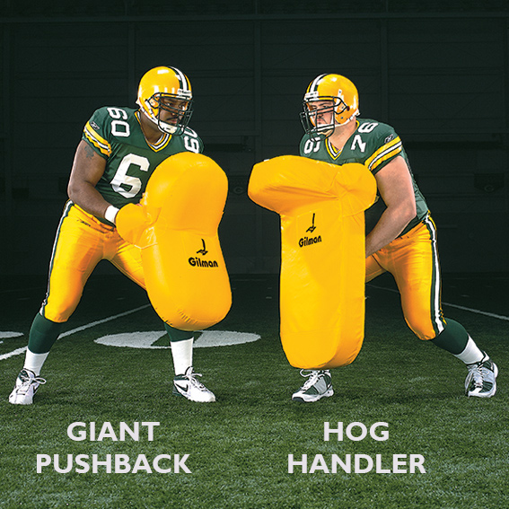 Giant Pushback Shields - football shields