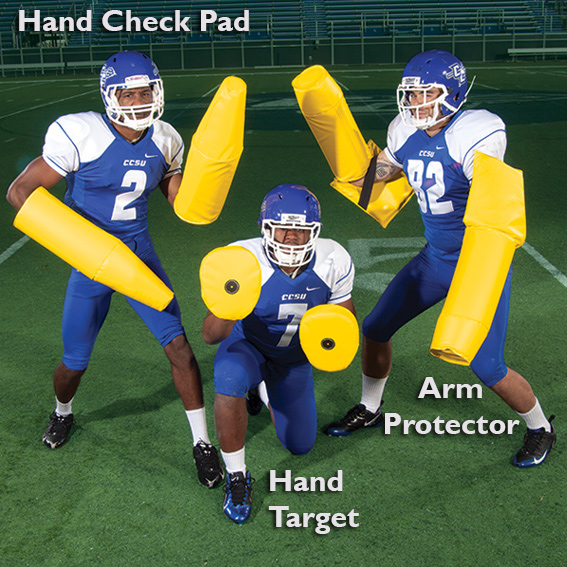 Hand Target - football hand shield - hand pad THUMBNAIL