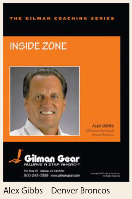 Coaching DVD: Inside Zone - Alex Gibbs, Denver Broncos LARGE