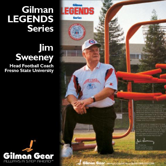 Jim Sweeney, Head Football Coach, Fresno State University ...
