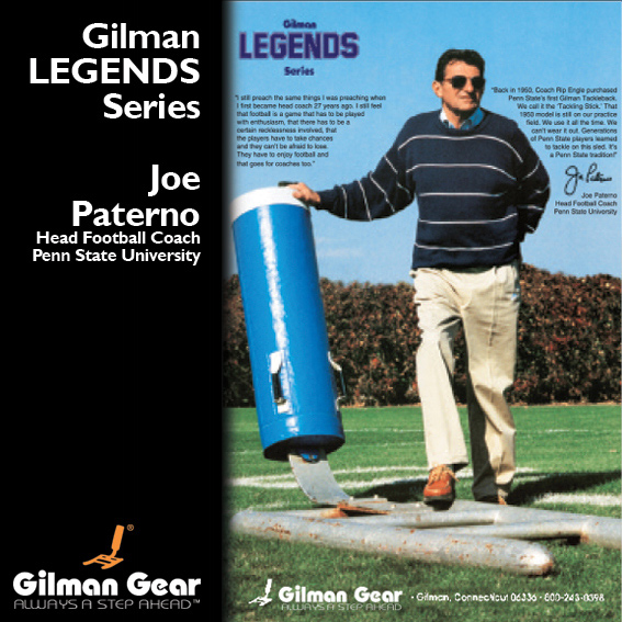 Joe Paterno, Head Football Coach, Penn State University, Gilman Legends Posters