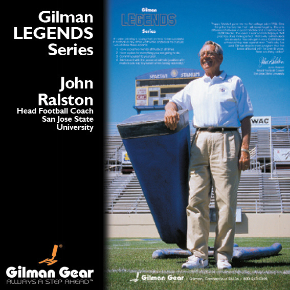 John Ralston, Head Football Coach, San Jose State University, Gilman Legends Posters LARGE