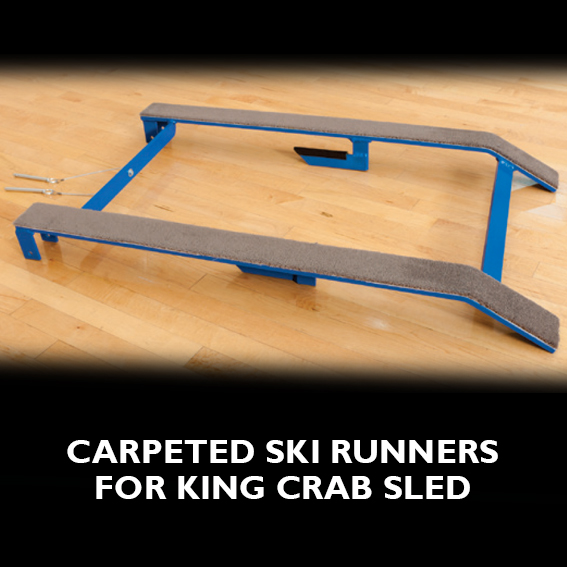 King Crab Sled Ski Runner - Football Sled THUMBNAIL