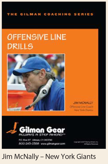 Coaching Series Instructional DVD: Offensive Line Drills- Jim McNally, New York Giants LARGE