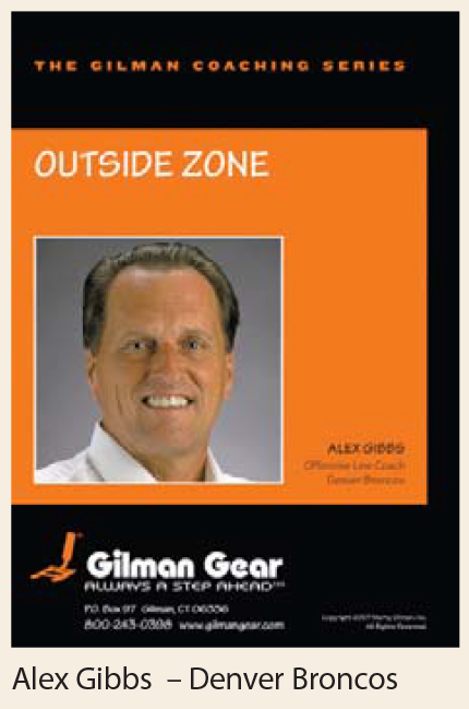 Coaching Series Instructional DVD: Outside Zone - Alex Gibbs, Denver Broncos