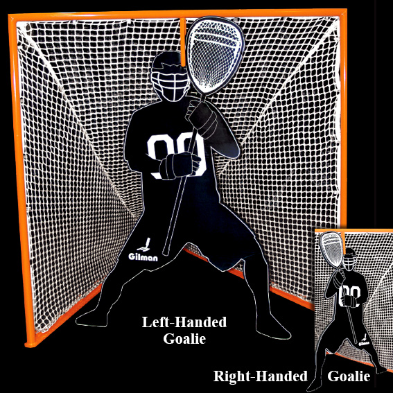 Practice Goalie with Trolley Mechanism THUMBNAIL