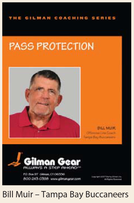 Coaching Series Instructional DVD: Pass Protection- Bill Muir, Tampa Bay Buccaneers