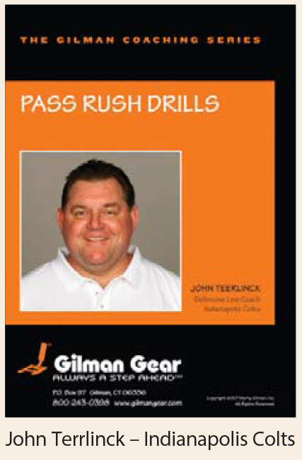 Coaching Series Instructional DVD: Pass Rush Drills, John Teerlinck, Indianapolis Colts