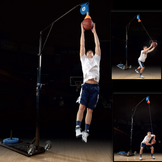 Power Rebounder - basketball training machine