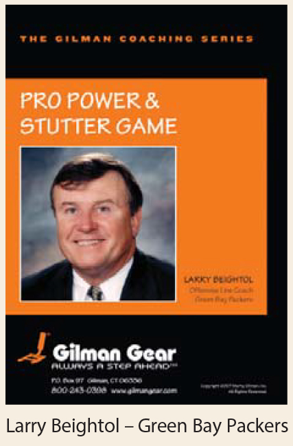 Instructional DVD, Outside Zone: Pro Power & Stutter Game- Larry Beightol, Green Bay Packers LARGE